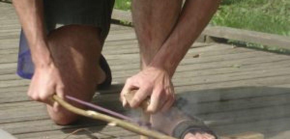fire making, primitive skill