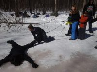 ice safety winter wilderness skills homeschool vacation children