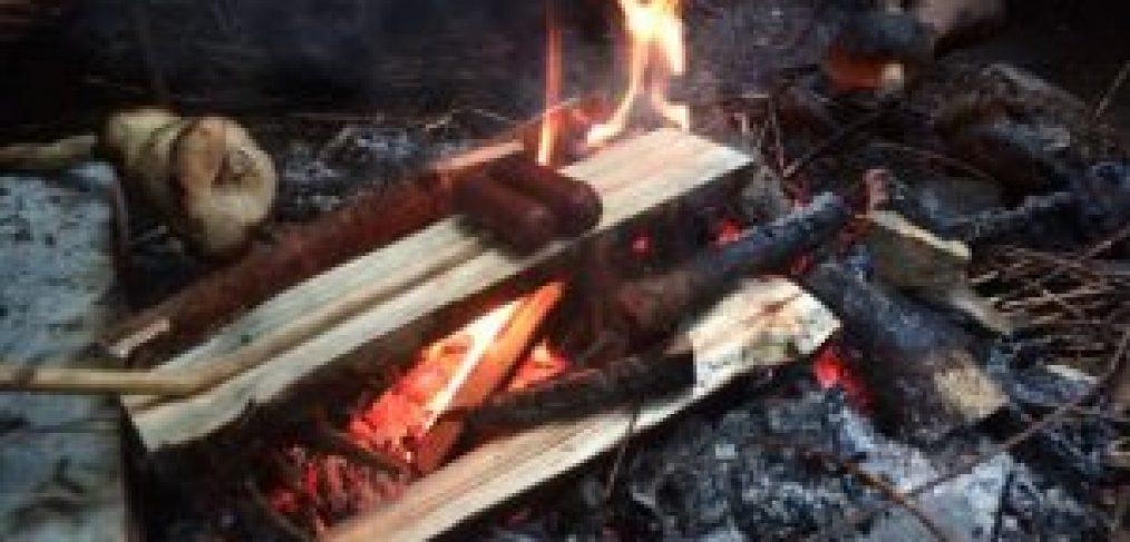 primitive cooking, outdoor
