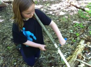 bow hunter-gatherer wilderness skills preteen teen