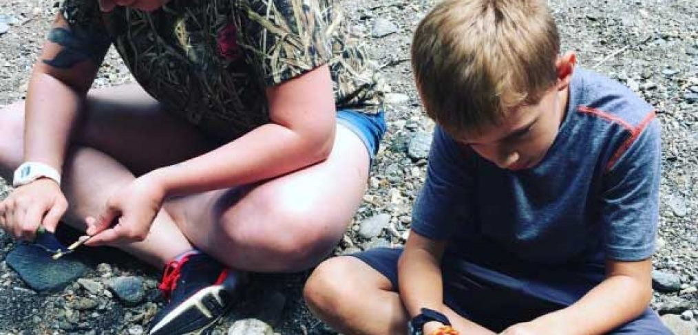 summer camp knife safety wilderness skills