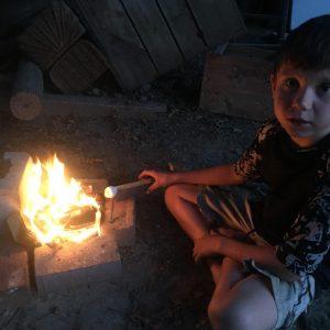 fire making homeschool Earthwork Programs