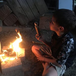 fire making homeschool Earthwork Programs