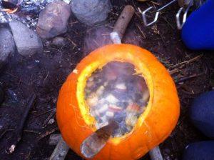 pumpkin soup feast