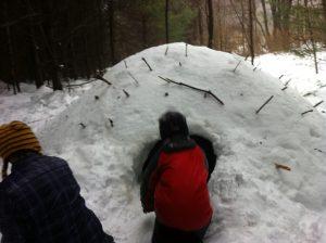 winter shelter Earthwork Programs