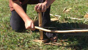 bowdrill firemaking wilderness skills western ma