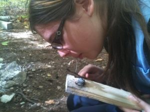 teen leader in training wilderness skills mentoring