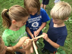 making cordage summer camp
