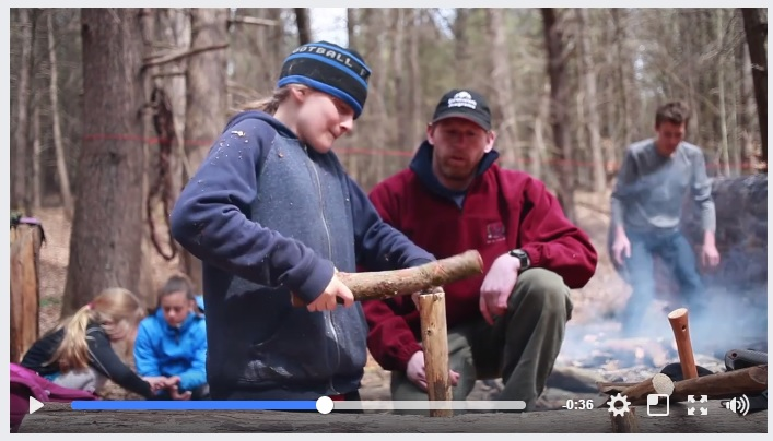 GREENFIELD RECORDER VIDEO VACATION PROGRAM WILDERNESS SKILLS