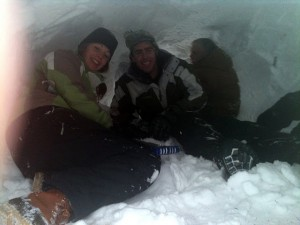 Winter Shelter Building