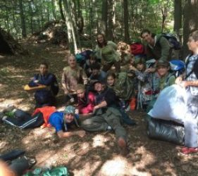 teens summer camp wilderness skills