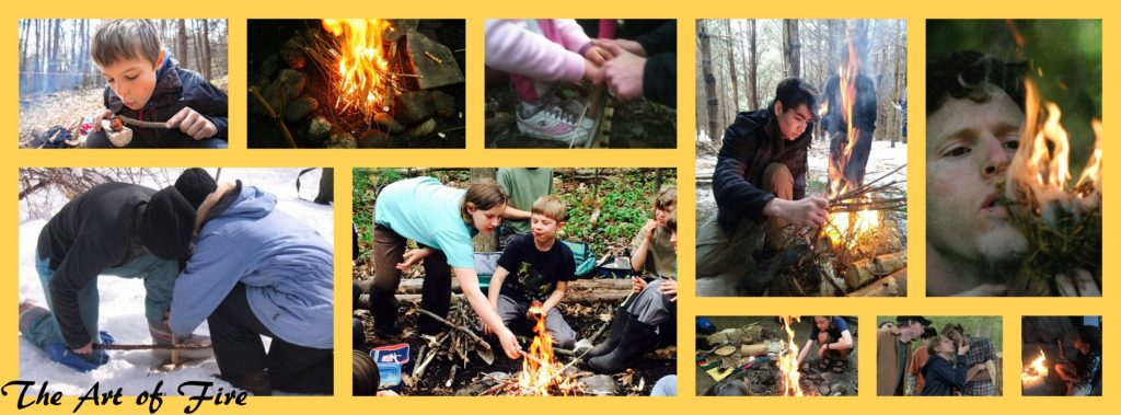 fire making wilderness skills