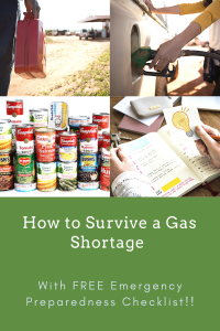 Pinterest How to Survive a Gas Shortage