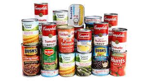 Canned Goods for Emergency Preparedness